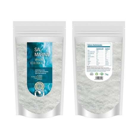 Sal virgen ecológica. Salina de San Vicente - 1 kg