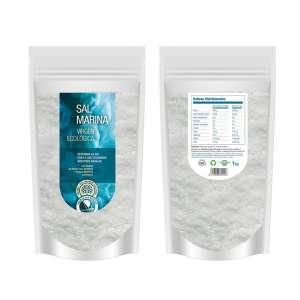 Sal virgen natural. Salina de San Vicente - 1 kg