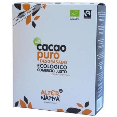 Cacao puro desgrasado 20-22%. Ecológico - 500 g