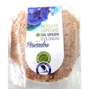 Mezcla de especias y sal virgen ecológica para pescados - 250 g