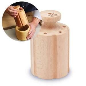 Peso de madera para pastel de carne - 15x9,5cm