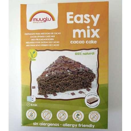 Preparado para bizcocho de chocolate - SIN alérgenos - 350g