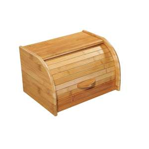 Panera bambú pequeña - 27 x 20 x 17 cm