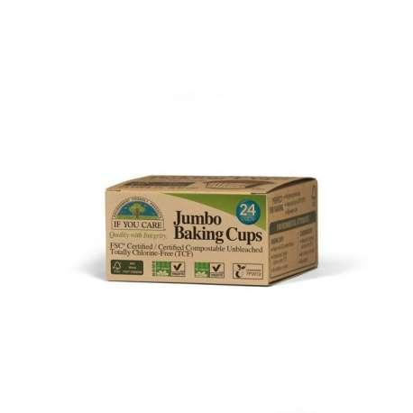 Moldes de papel para magdalenas - grandes - 24 uds.