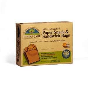 Bolsas de papel sandwich y otros alimentos (48 und.)