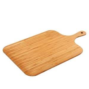Pala de bambú rectangular para pan y pizza