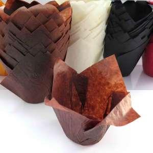 Cápsulas tulipas para cupcakes - 150 unidades