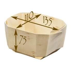 Molde de madera para hornear. Modelo Comte - 5 unidades