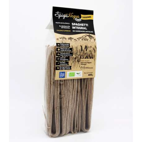 Spaghetti integral artesano y ecológico - 400 g