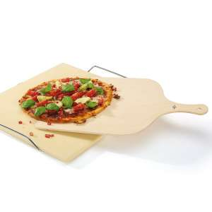 Pala horno rectangular pequeña para panes y pizzas