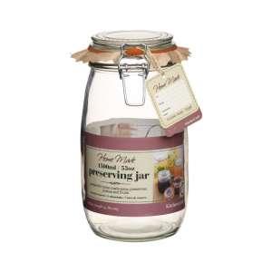 Bote de cristal con cierre hermético - 1500 ml