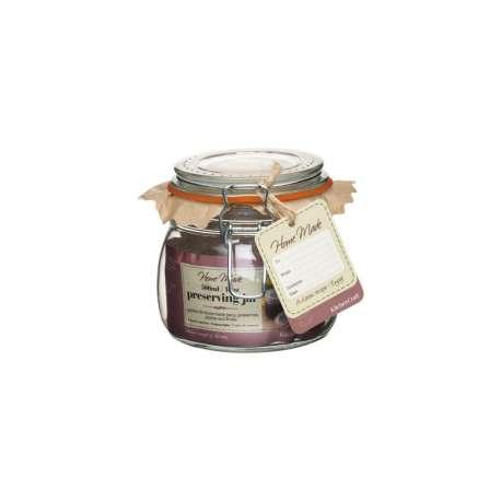 Bote de cristal con cierre hermético - 550 ml