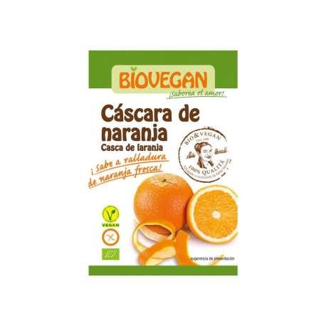 Ralladura de cáscara de naranja ecológica - 9 g