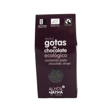 Mini gotas de chocolate 48 % ecologico - 225 g
