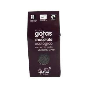 Mini gotas de chocolate 48% ecologico - 225 g