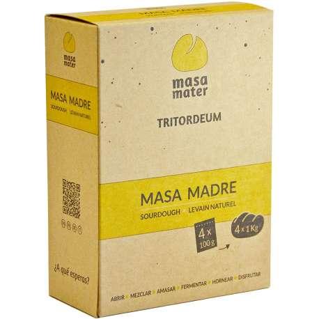 Masa madre de Tritordeum - MASA MATER TRITORDEUM - 400 g