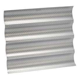 Bandeja 4 baguettes perforada y antiadherente - 38 x 33 cm