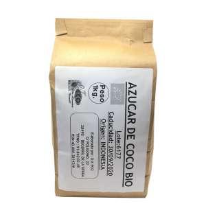 Azúcar de coco ecológica - 1 Kg