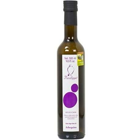 Aceite de oliva virgen extra Arbequina Selección Basilippo - 500 ml
