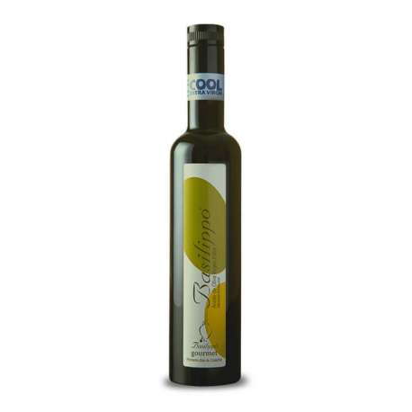 Aceite de oliva virgen extra Arbequina Basilippo gourmet - 500 ml