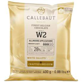 Cobertura Chocolate Blanco Callebaut 28% 400g