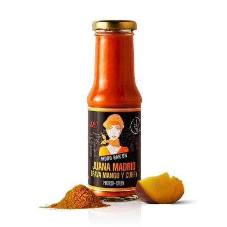Salsa Brava Mango y Curry - 220 g