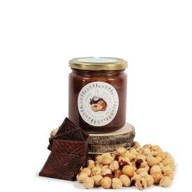 Crema de avellana y chocolate del 85% 300gr.