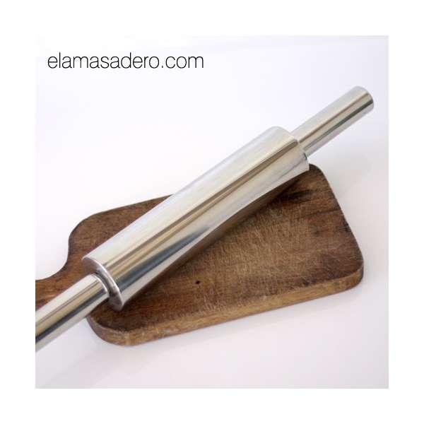 Rodillo de acero inoxidable 48 cm el amasadero for Rodillo cocina