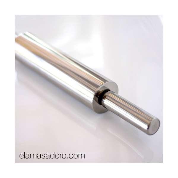 Rodillo de acero inoxidable 48 cm el amasadero for Pilas de acero inoxidable