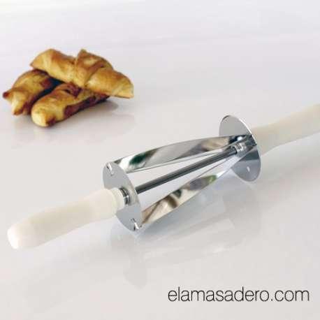Rodillo cortador de croissant pequeño