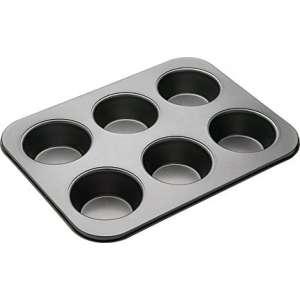 Molde 6 muffins grandes