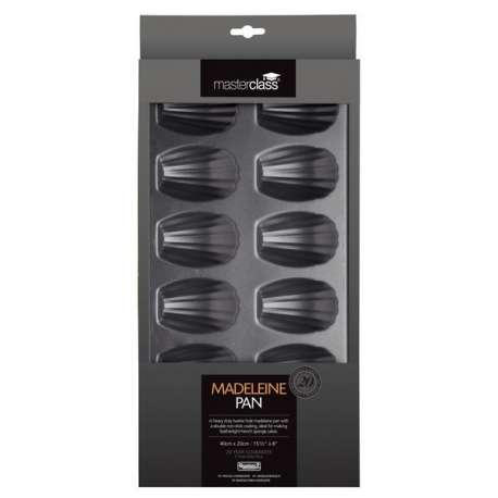 Molde madeleine, 12 cavidades