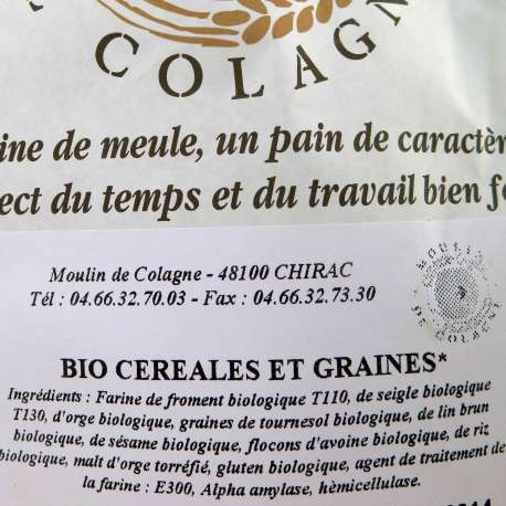 Mix de cereales y granos ecológicos - 1,5 kg