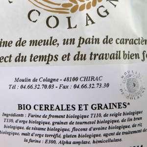 Mix meule BIO Cereales y granos ecológica - 5 kg