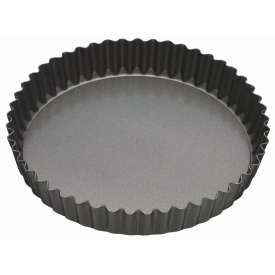Molde rizado-fondo móvil, 25 cm.