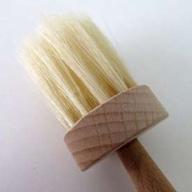 Cepillo para untar. Redondo, diámetro del área útil, 40 mm.