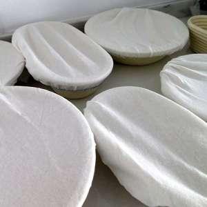 Funda de algodón para banneton de 1,5 kg alargado