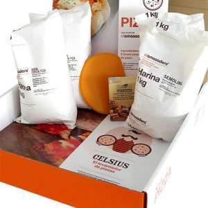 Kit para pizza, plancha Celsius