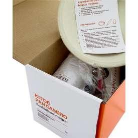 Kit de pan casero ecológico e integral