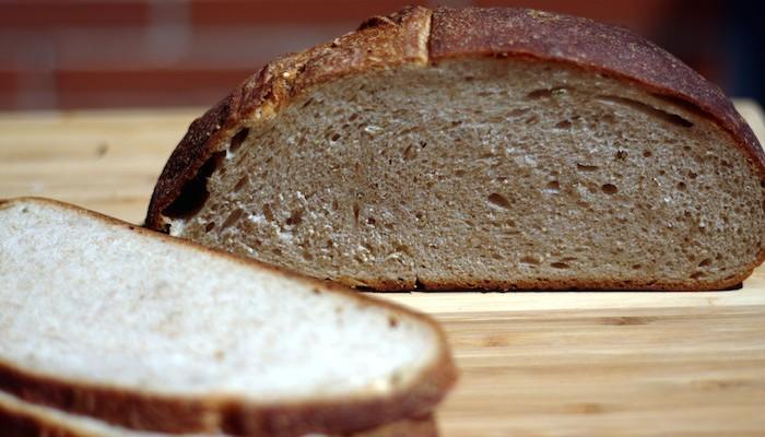 Pan estilo NY Deli con mezcla de centeno y harina panadera