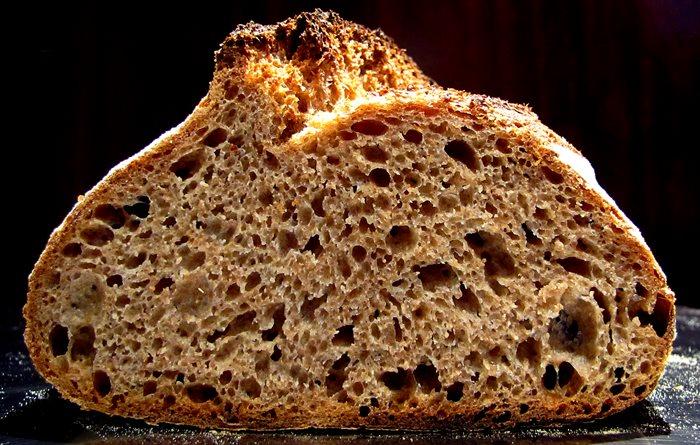 Pan integral de espelta de Panarras.com